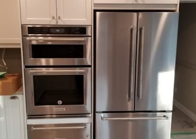Cabinetry Over Appliances